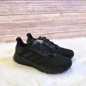 Adidas Black Duramo 9 Running Shoes